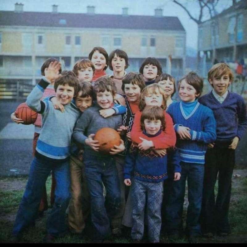 !970's photo Monkstown kids