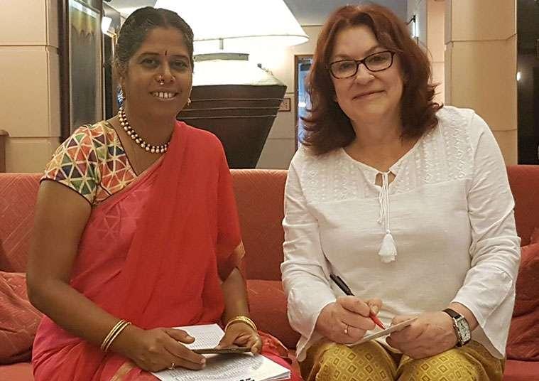 Bibi Baskin in India