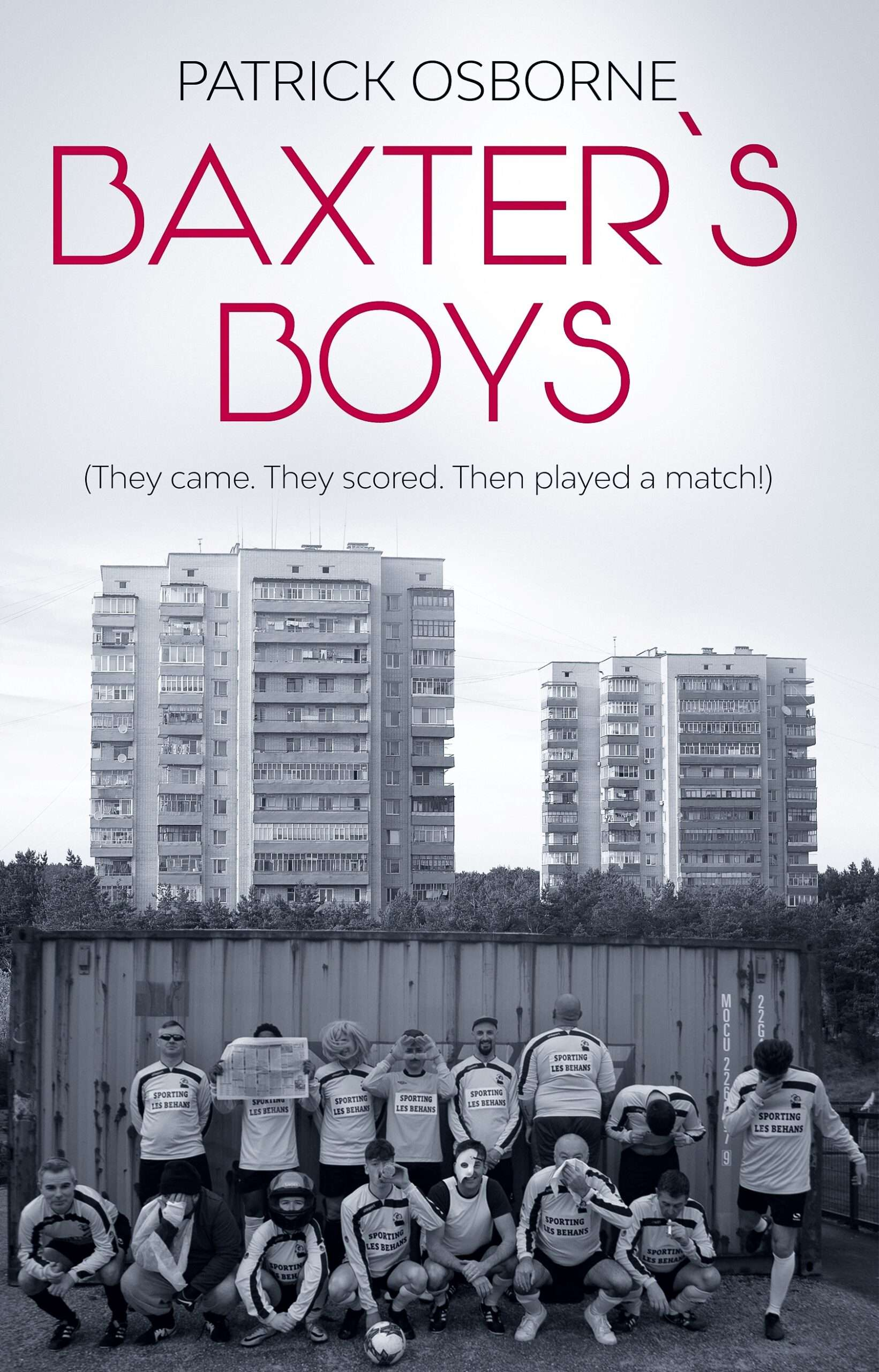 Baxter's Boys cover page