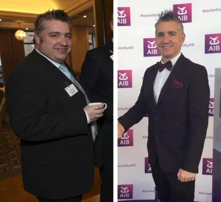 Rob weight loss pic